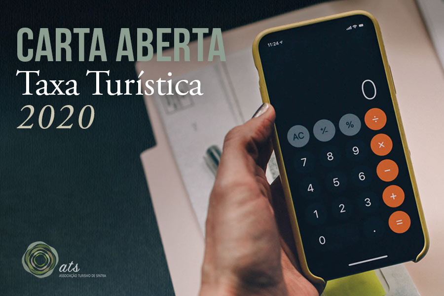 Carta Aberta - CMS - Taxa Turística 2020 - Sintra