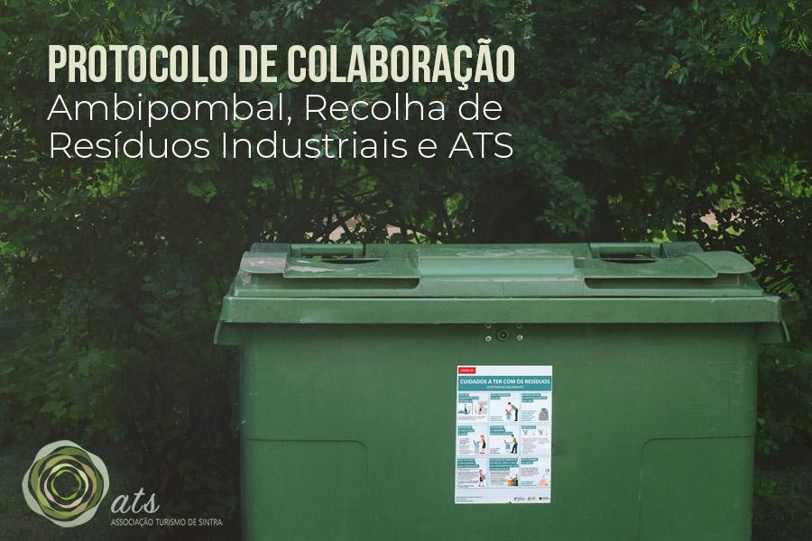 Protocolo de Colaboração entre a Ambipombal, Recolha de Resíduos Industriais e ATS