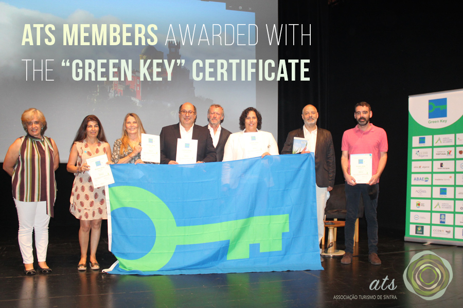 """ATS members awarded with the """"Green Key"""" certificate"""