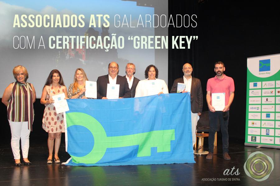 """Associados ATS galardoados com a certificação """"Green Key"""""""